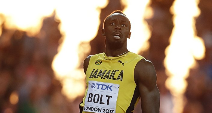 Usain Bolt, deportista