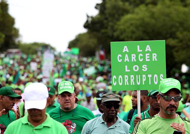 El Movimiento Verde en las calles de Santo Domingo, República Dominicana