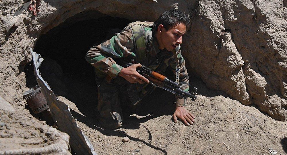 Un militar sirio (archivo)