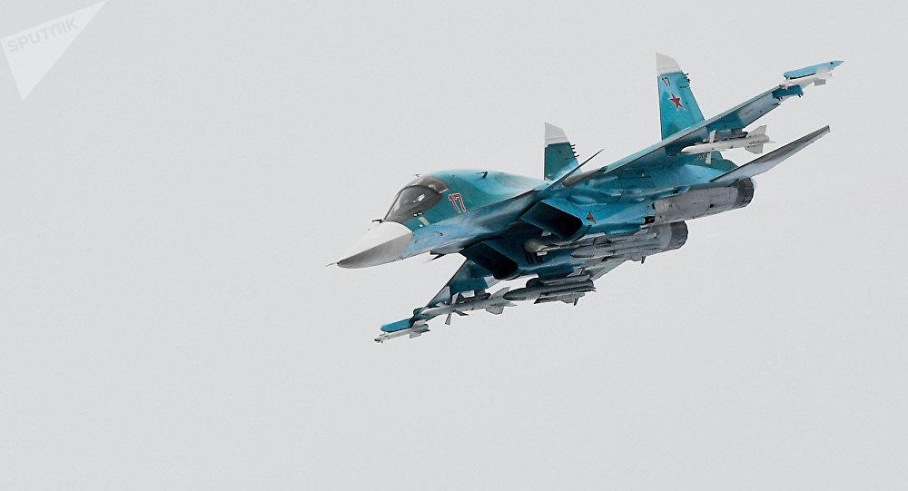 Cazabombardero ruso Su-34