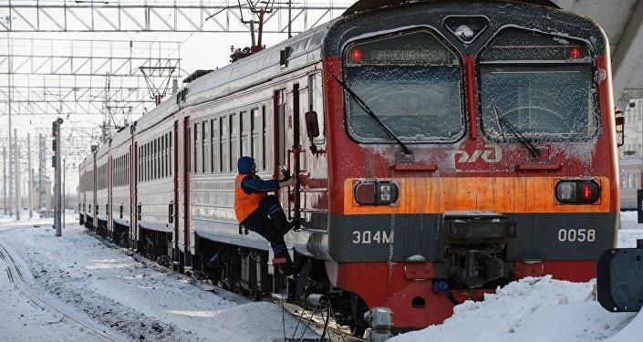 Un tren ruso