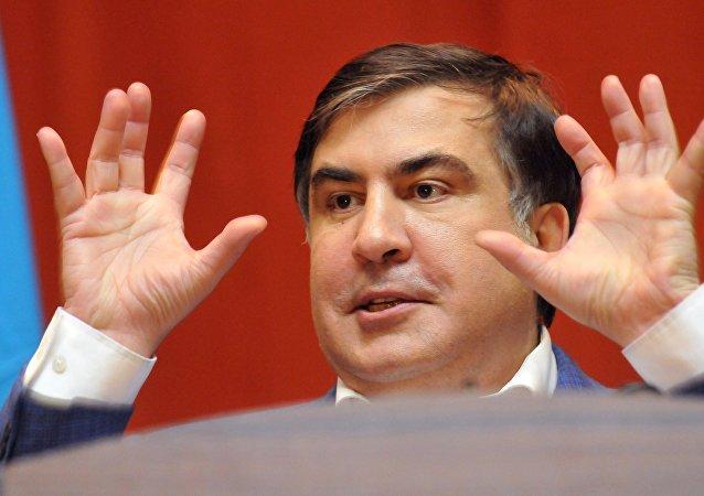 Mijaíl Saakashvili, expresidente de Georgia y exgobernador de la región ucraniana de Odesa