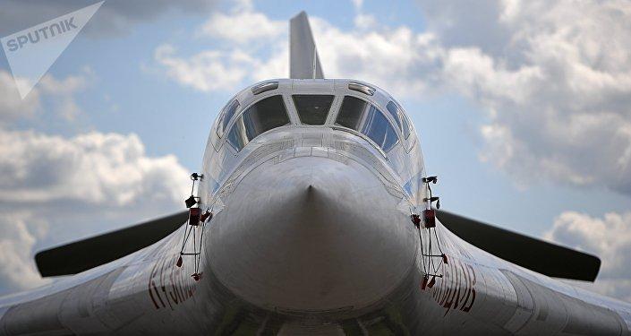 El bombardero pesado Tu-160 Nicolái Kuznetsov