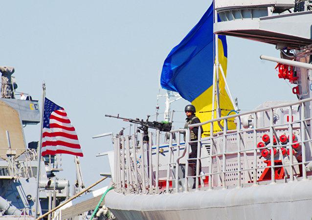 Las maniobras conjuntas entre Ucrania y EEUU, Sea Breeze 2015 (archivo)
