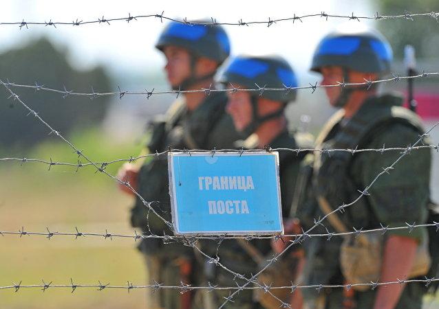 Pacificadores rusos en Transnistria