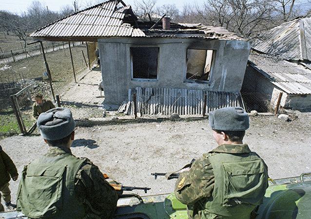 El conflicto entre Georgia y Osetia del Sur