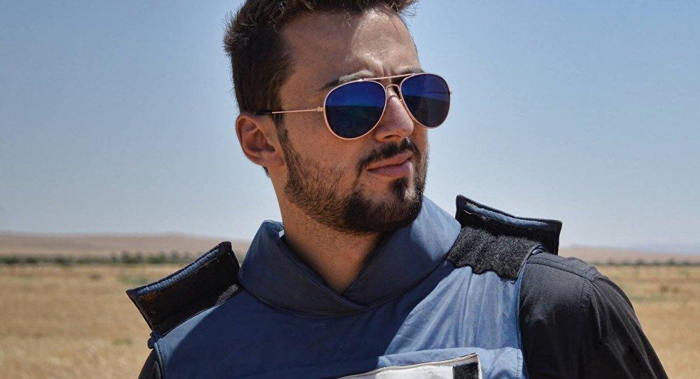 Jaled Jatib, colaborador de la cadena RT fallecido en Siria