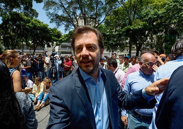 Ramón Muchacho, alcalde de Chacao, Venezuela