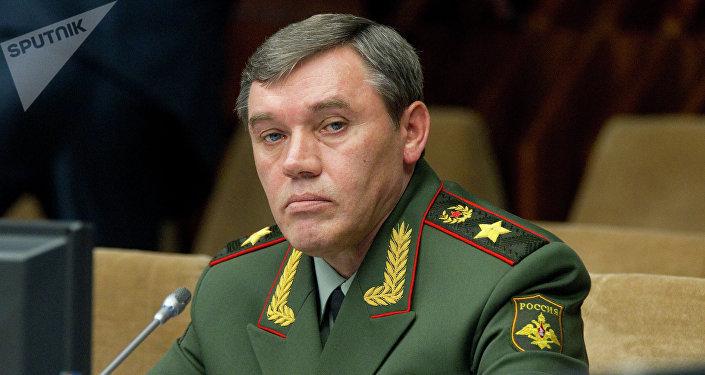 Valeri Guerásimov, jefe del Estado Mayor ruso (archivo)
