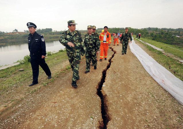 Terremoto en la provincia china de Sichuan (archivo)