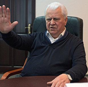 Leonid Kravchuk, el expresidente de Ucrania