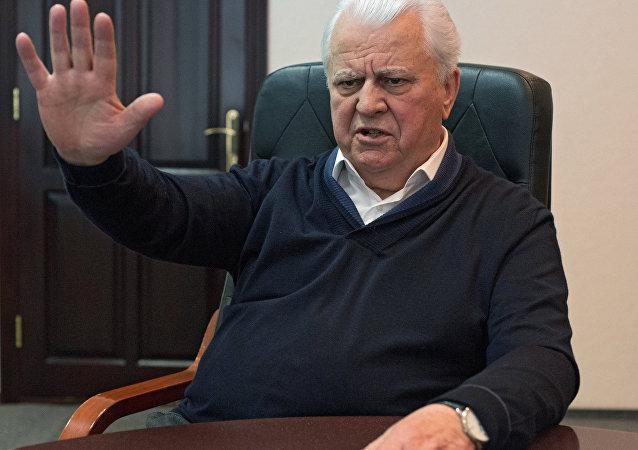 Leonid Kravchuk, el expresidente de Ucrania (archivo)