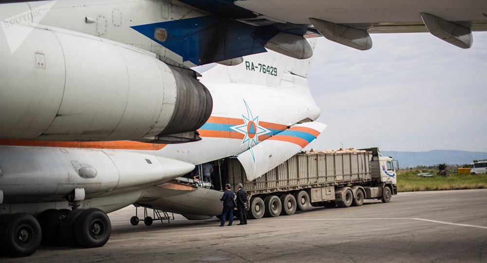Ayuda humanitaria de Rusia para Siria (archivo)