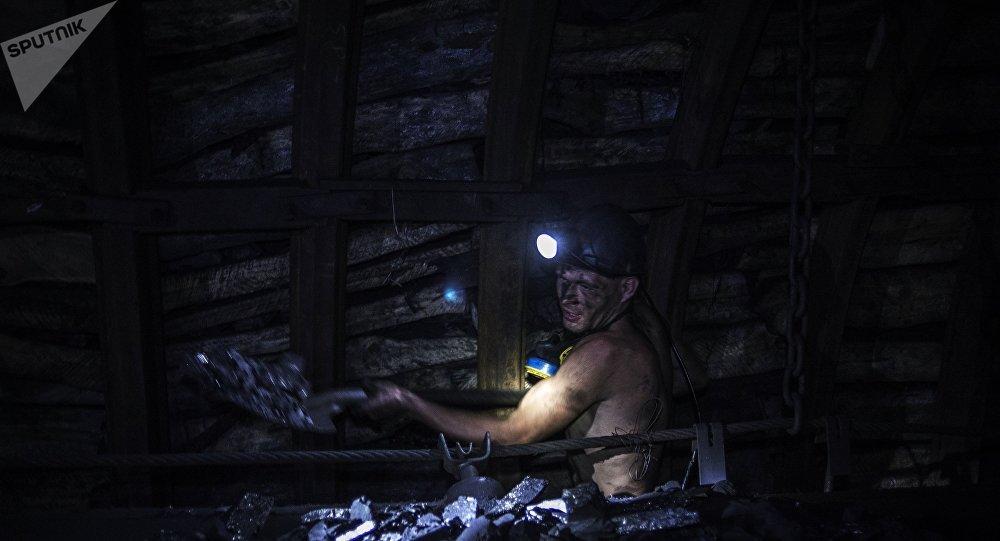 Mina de carbón en la óblast de Donetsk (archivo)