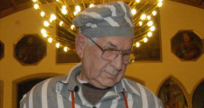 Sirmund Sobolewski, prisionero número 88 del campo de concentración de Auschwitz
