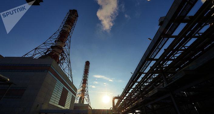 Una planta eléctrica (imagen referencial)