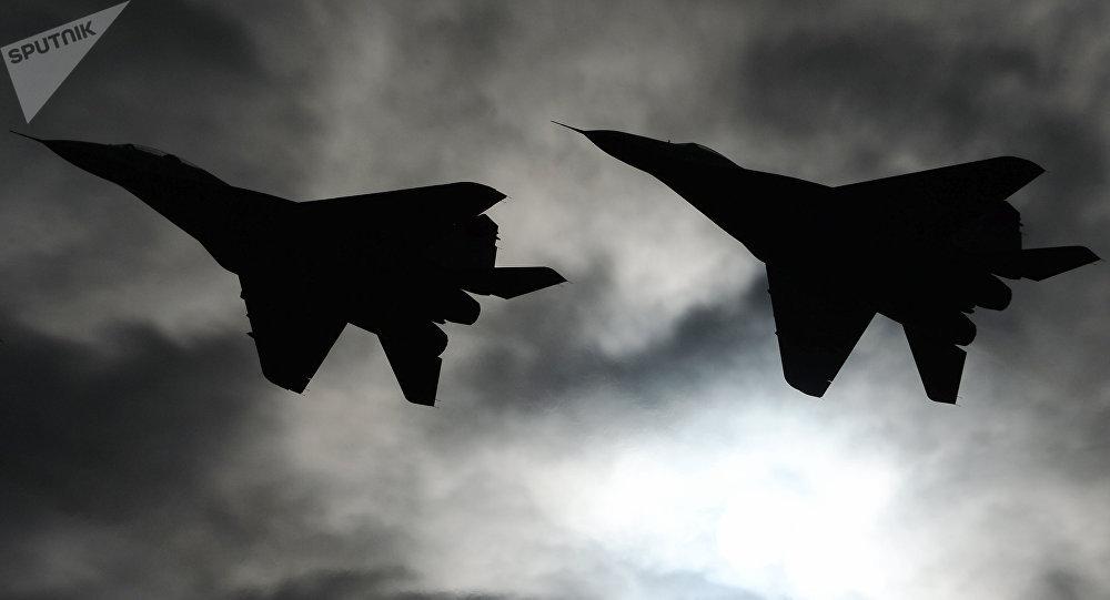 Aviones de combate MiG-29 (archivo)