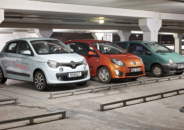 Coches Renault Twingo (imagen referencial)