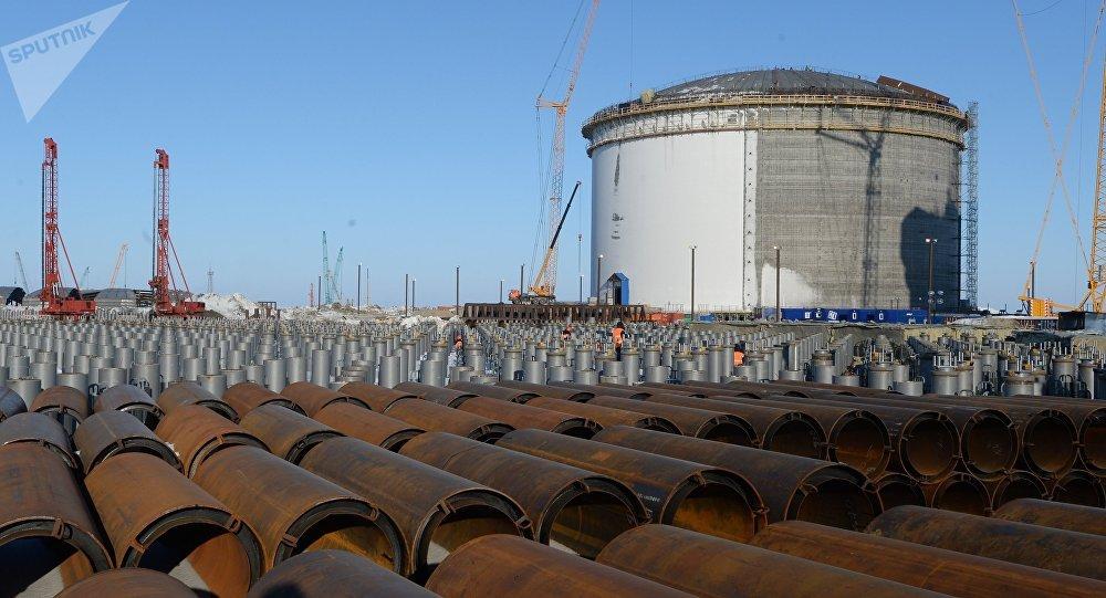 La producción del gas natural licuado en Rusia