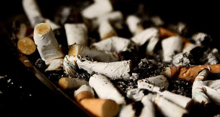 Un cigarrillo