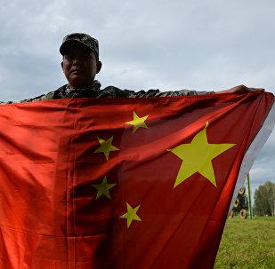Soldado de las Fuerzas Armadas de China
