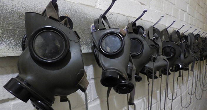 Máscaras antigás (archivo)