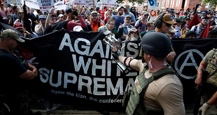 Protestas en Virginia