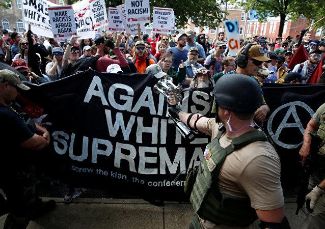 Marcha en Charlottesville (archivo)