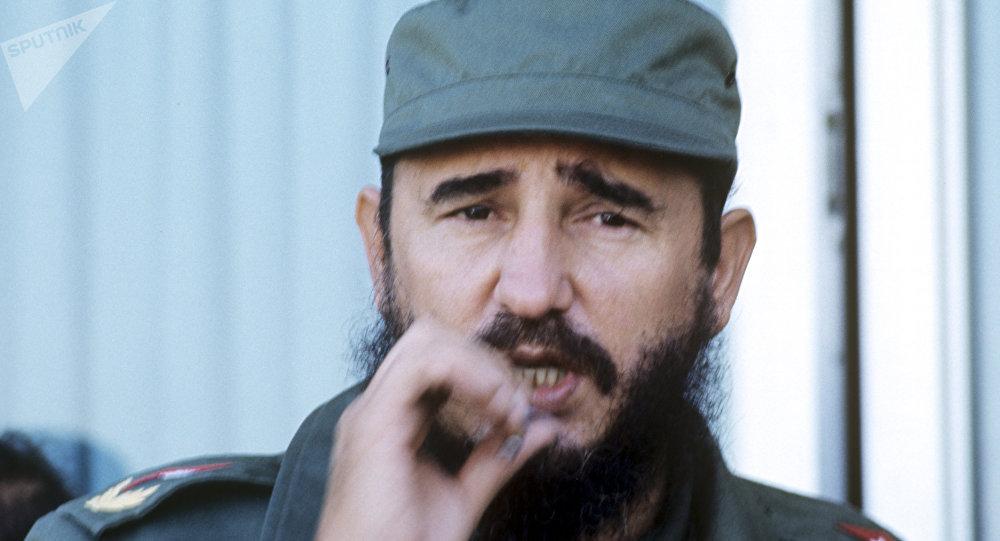 Fidel Castro, líder de la Revolución cubana (archivo)
