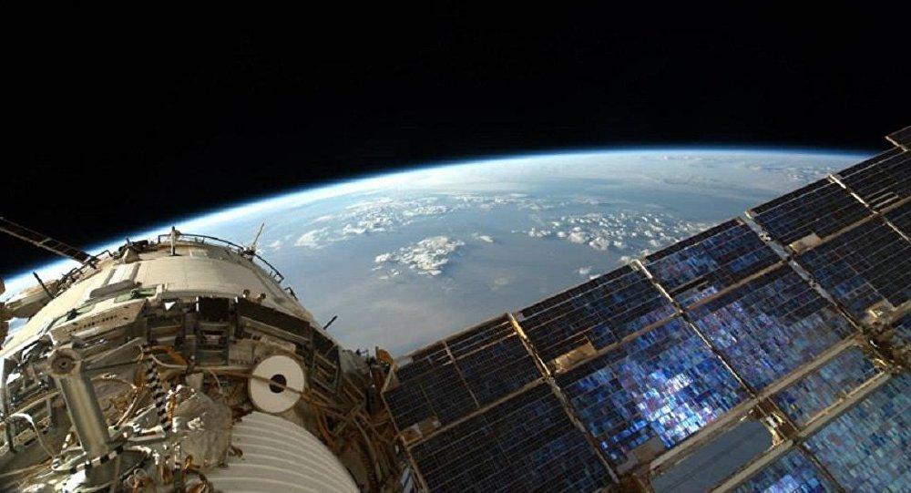 La Tierra desde la Estación Espacial Internacional (archivo)