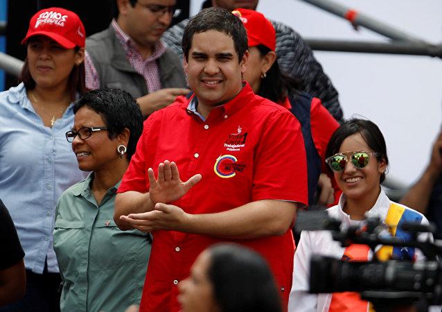 Nicolás Maduro Guerra, hijo del presidente de Venezuela, Nicolás Maduro (archivo)