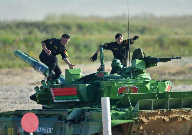 La espectacular final del Biatlón de Tanques de los Army Games 2017