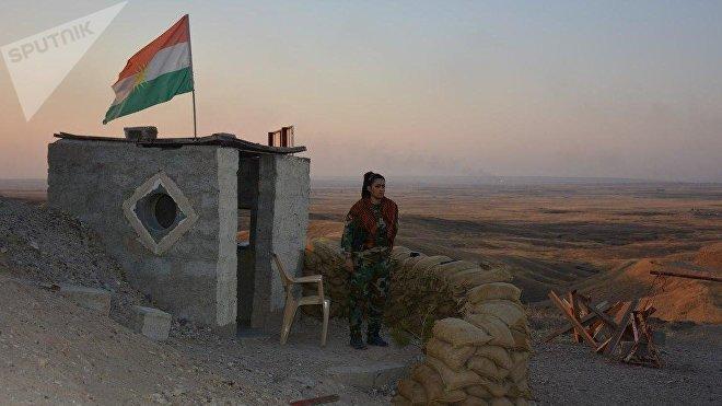 Una mujer kurda que lucha contra Daesh