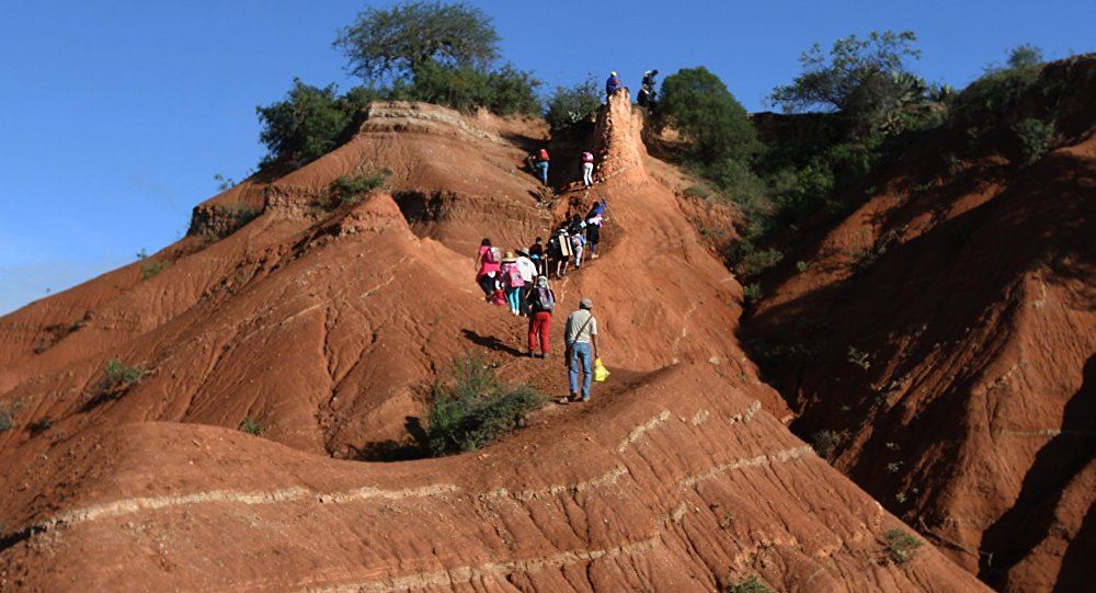 Bañado en oro y bronce: geoparque Mixteca Alta, un regalo de la historia y la naturaleza