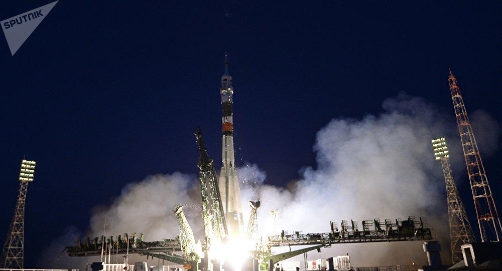 Cohete portador ruso Soyuz MC-05