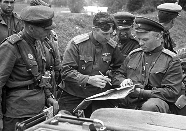 Militares soviéticos (archivo)