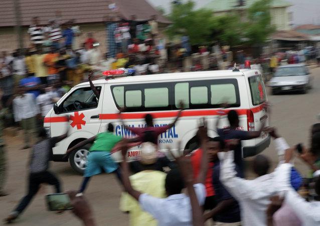 Ambulancia de Nigeria