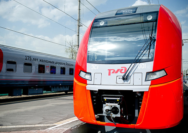 Un tren de Ferrocarriles de Rusia (archivo)