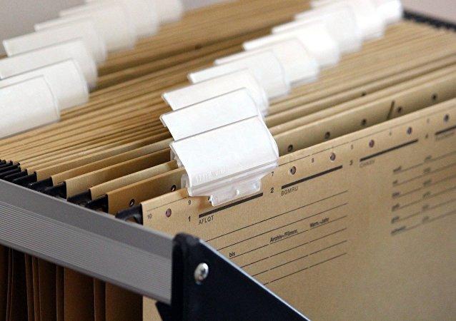 Carpetas en un archivo