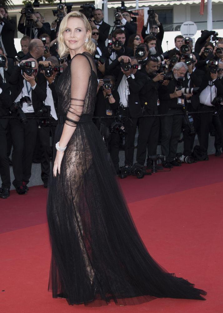 Charlize Theron, actriz y modelo sudafricana nacionalizada estadounidense