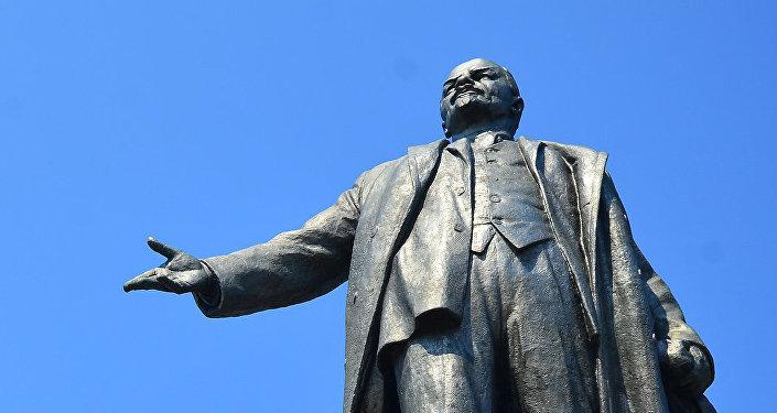 El monumento de Lenin en Ucrania