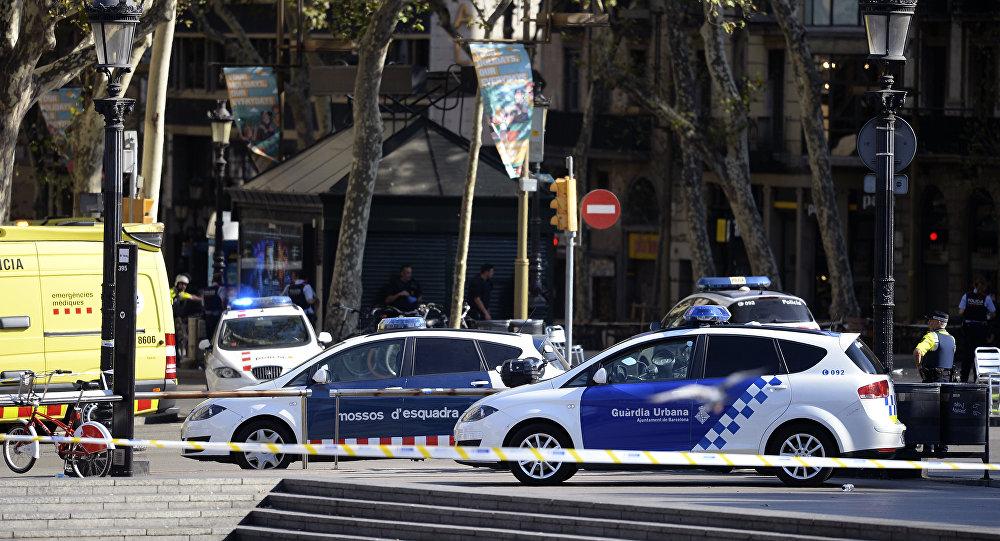 La policía en Barcelona (archivo)