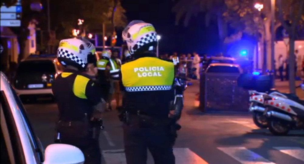 Policía en Cambrils