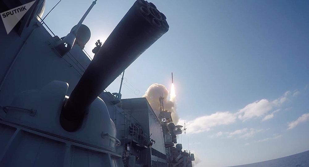 Los misiles de crucero Kalibr en Siria (archivo)
