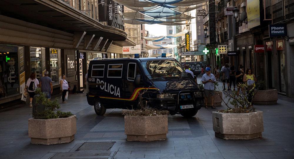 Policía de España en Madrid