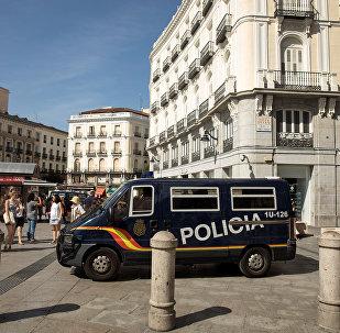 La Policía española (imagen referencial)