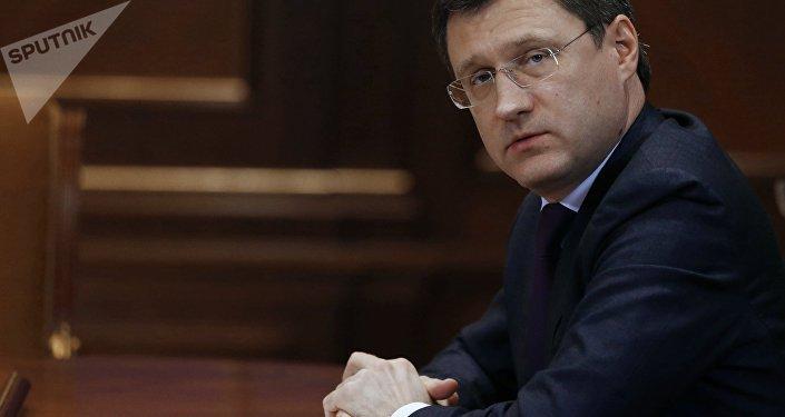 Alexandr Novak, ministro de Energía de Rusia