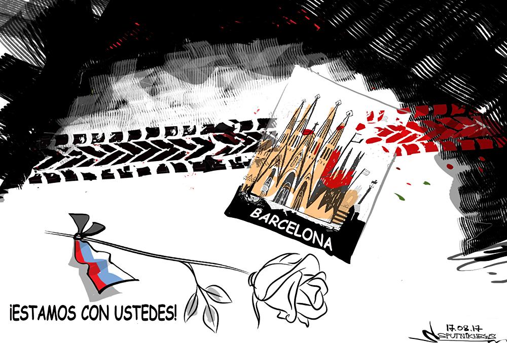 Rusia comparte el dolor de España tras los atentados en Barcelona