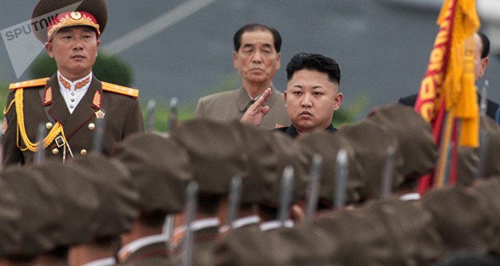 Kim Jong-un, líder de la Corea del Norte