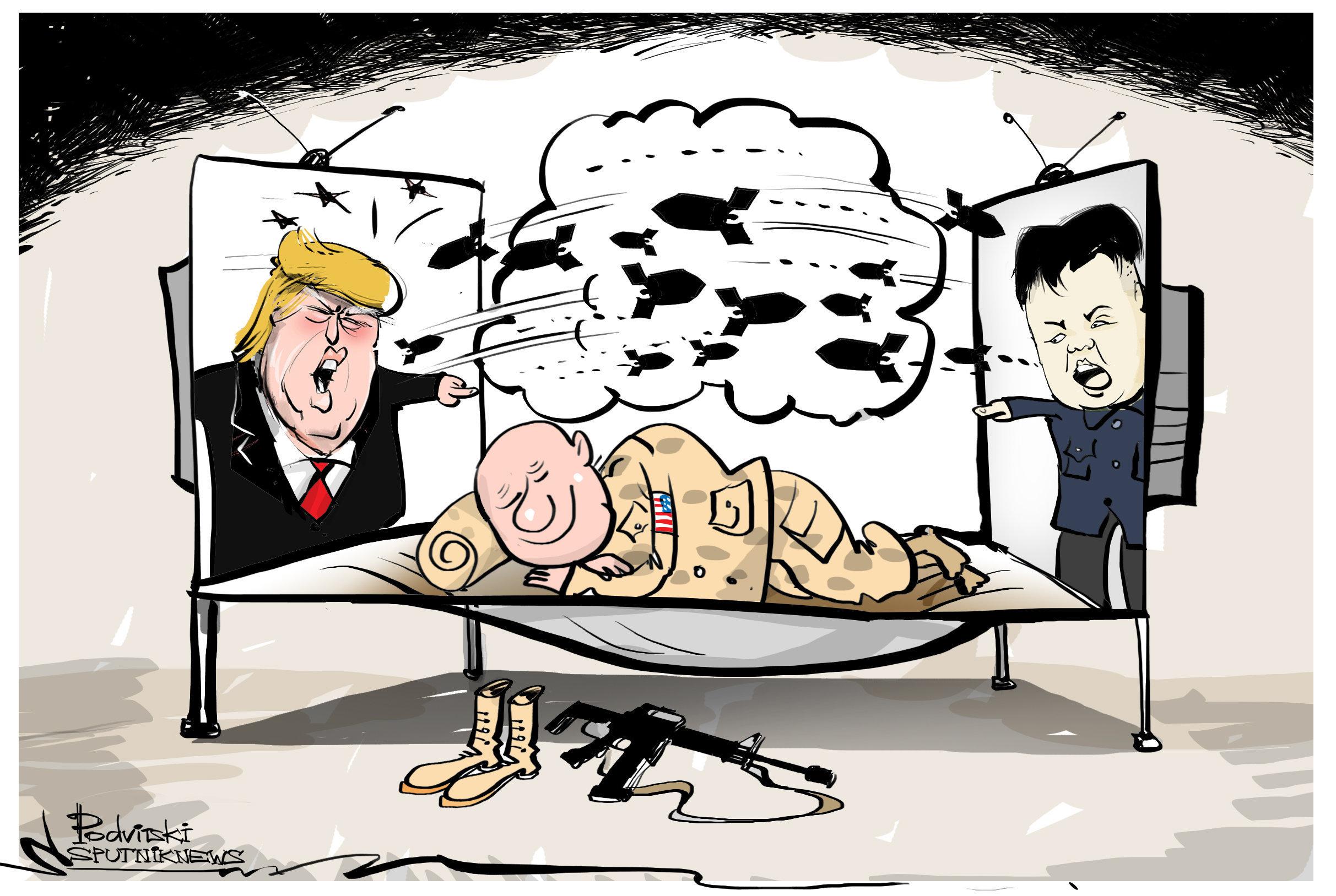 ¿Empieza mañana la guerra entre EEUU y Corea del Norte? ¡No me digas!